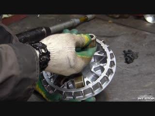 [мастерская pit_stop] honda silver wing 400: устройство вариатора и то