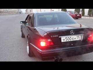 Mercedes E500 W124 - педаль в пол!