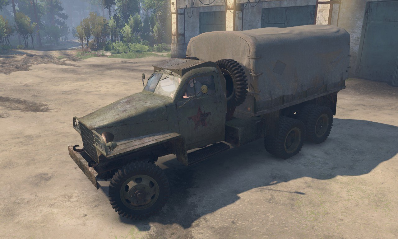 Studebaker US-6 (Red Army) для 03.03.16 для Spintires - Скриншот 2