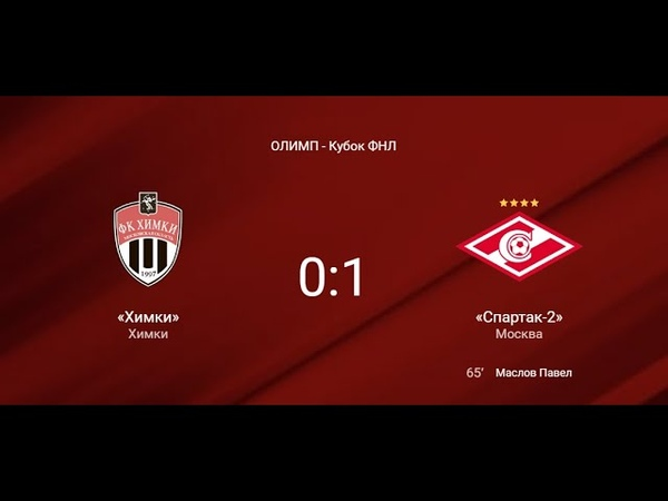 Обзор победного матча на Кубке ФНЛ Химки Спартак 2 0 1 18 февраля 2019