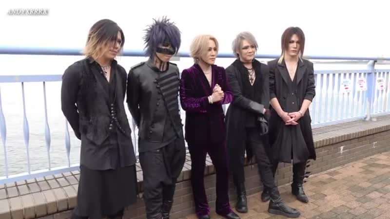 The gazette Backstage Kishidan Banpaku 2018