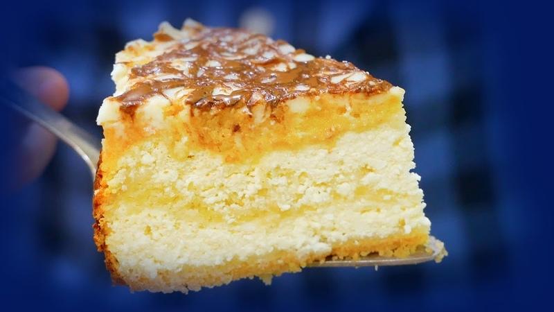 Пирог с творогом со сладкой заливкой идеально к чаю