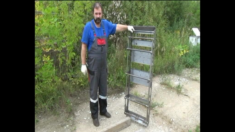 Мотобуксировщик, (мотособака) - тест рамы мотобуксировщика (Бетонатест)