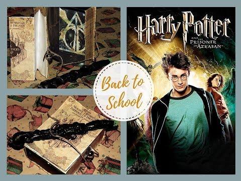 BACK TO SCHOOL HARRY POTTER Ручка волшебная палочка и карта Мородеров дневник