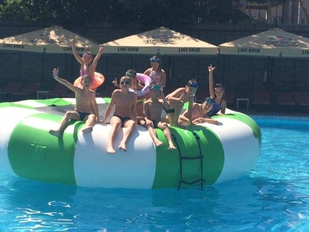 поход в бассейн