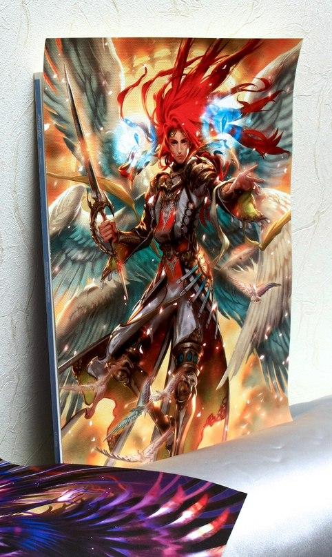 Купить постер Midori Foo Art