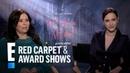 Rachel Brosnahan Alex Borstein React to 'Women Aren't Funny' Label E Red Carpet Award Shows