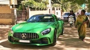SUPERCARS IN INDIA - February 2018 (Bangalore) - AMG GTR, 720S more.