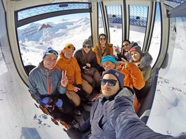 Видеоотчет маршрут Русский Пик на Эльбрусе