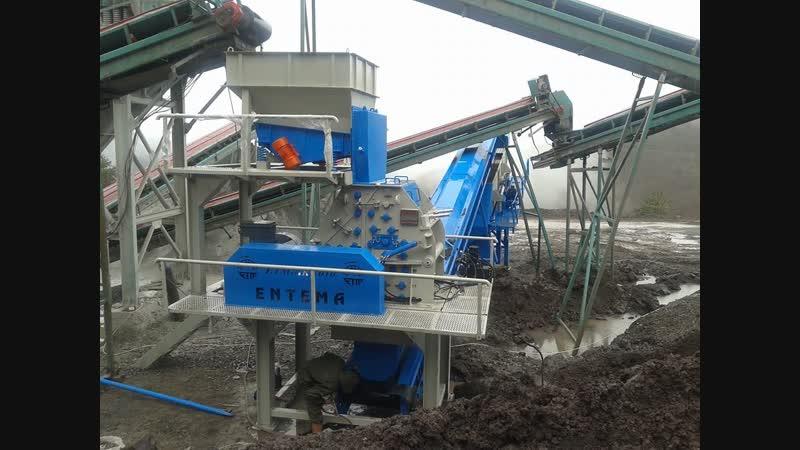 Entemadrobilka drobilka boru hattı madencilik E
