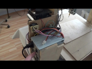 Homemade CNC machine tool from printers own hands