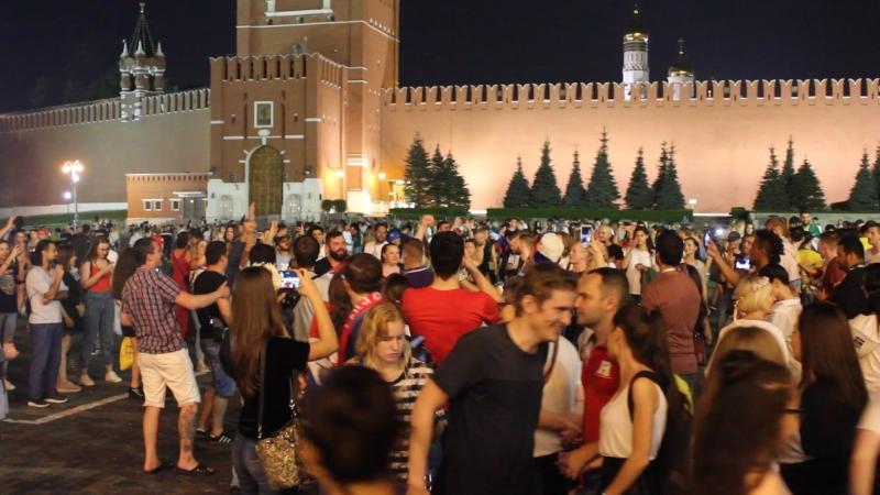 Песни на Красной площади 15.07.2018