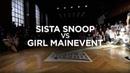 SISTA SNOOP vs GIRL MAINEVENT | WARRIORZ KRUMP GAME 9 INTERNATIONAL