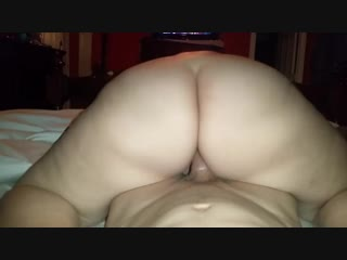 Juicy pussy bouncing on big dick - big ass butts booty tits boobs bbw pawg curvy mature milf