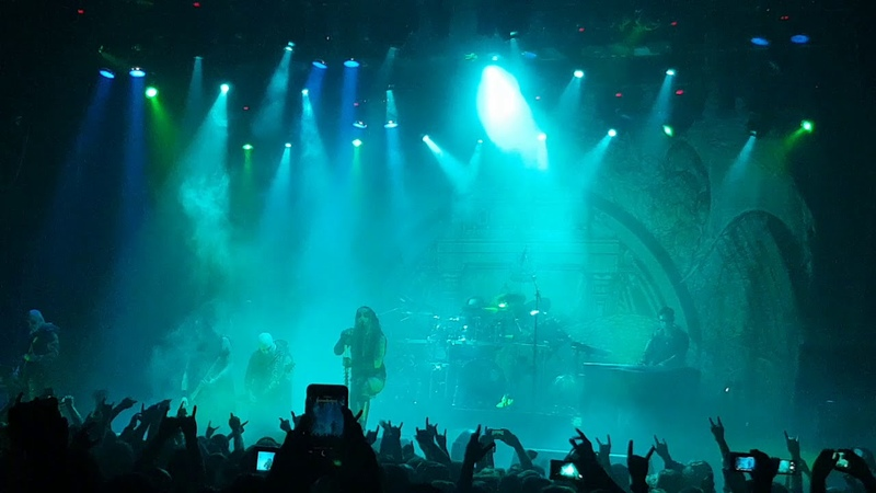 Dimmu Borgir - Mourning Palace (live in GlavClub, Moscow, 20.09.2018)