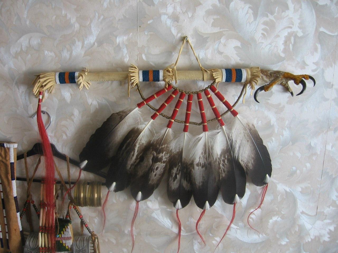 Продается жезл с лапой беркута - танцевальная ргалия для Северного традиционного (old style) Dx9rPWiCcsM