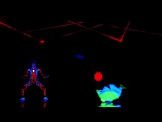 UDI Dance- Glow In The Dark Dance Crew Brings Video Games To Life - Americas Got Talent 2018
