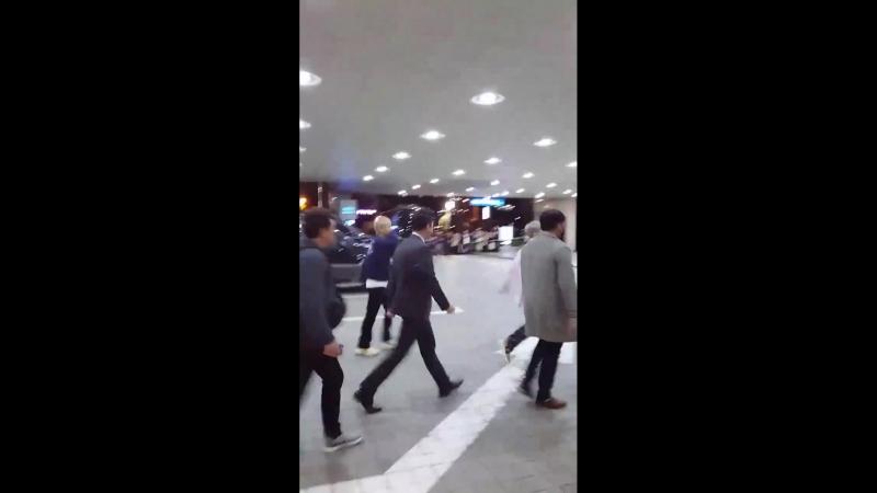 180416 CBX arrival at Daegu