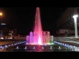 Красивый фонтан Оперный театр Харьков Beautiful fountain Kharkov Opera House