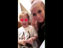 Lottie reunited with her two little angels ️