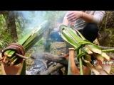 КИТАЙСКИЕ УЛОВКИ. Бамбуковые хитрости. Мясо с рисом и зеленью. Рыба приготовленная двумя способами.