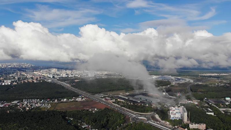 Облака и ветер