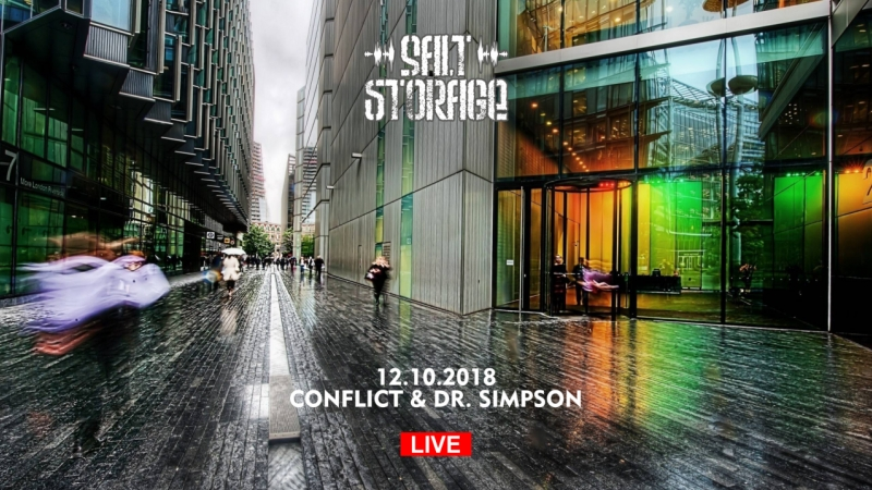 181012 Conflict Dr. Simson @ Salt Storage saltstorage live stream scratch turntablism drsimson djconflict