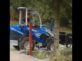📹 Видео пособие: как замешивать бетон в ковше трактора 💡