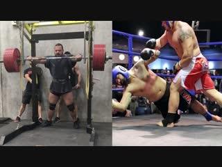 MMA Powerlifter Alex Simon 2018