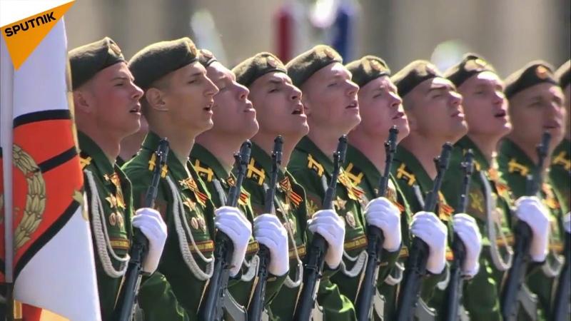 9 Mayıs Zafer Günü geçit töreni Moskovada bulunan Kızıl Meydanda gerçekleşti