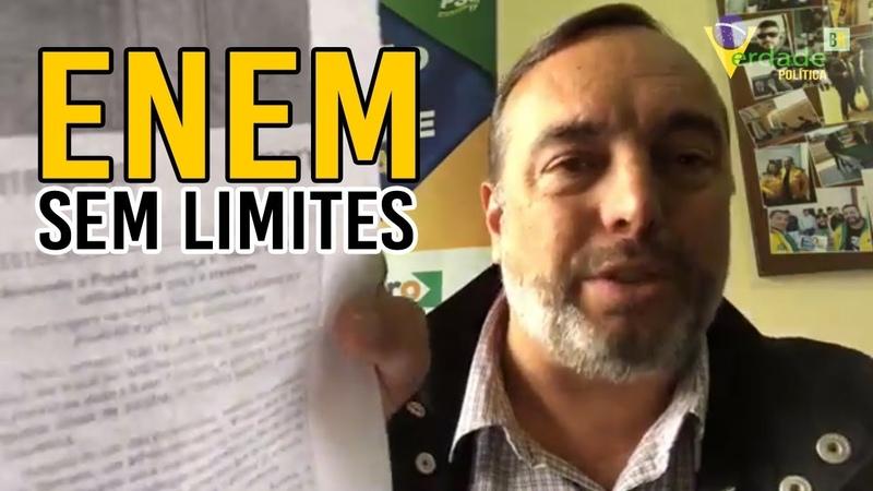 Francischini critica prova do ENEM