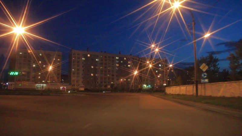 Огни ночного города. Автор- Игорь Докучаев.