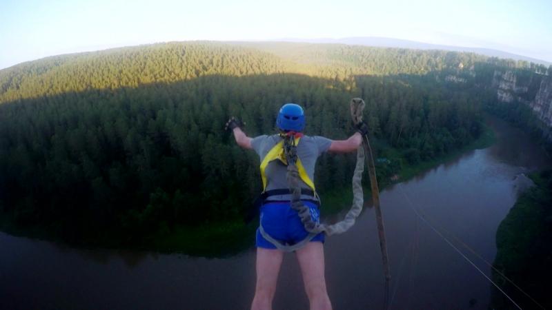 43 - Айские Притёсы (30 июня -1 июля) No Angels Team Прыжки с веревкой на Урале