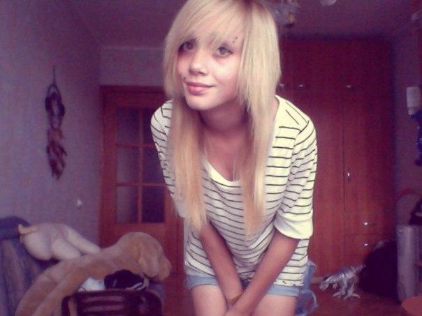 Фото девушек челкастых блондинок фото 504-894