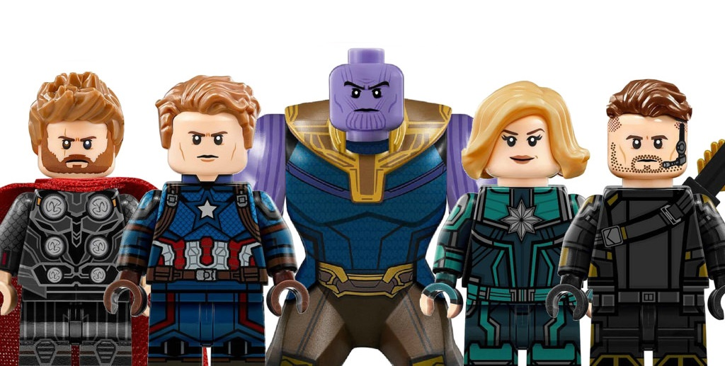 AVENGERS 4 LEGO Minifigs First-Look And Possible Set
