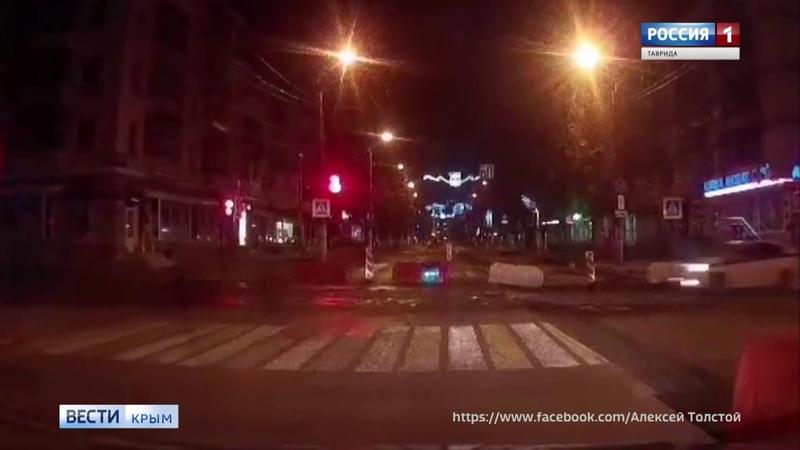 Взлетаем: в центре города летала полицейская машина