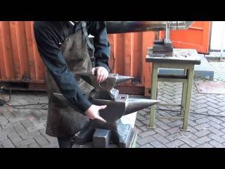 Тест c шариком наковальни Ridgid (Peddinghaus) anvil size and rebound comparison (Ball bearing test)