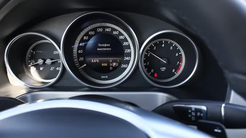 2013 Мерседес-Бенц E200 (W212). Обзор (интерьер, экстерьер, двигатель)
