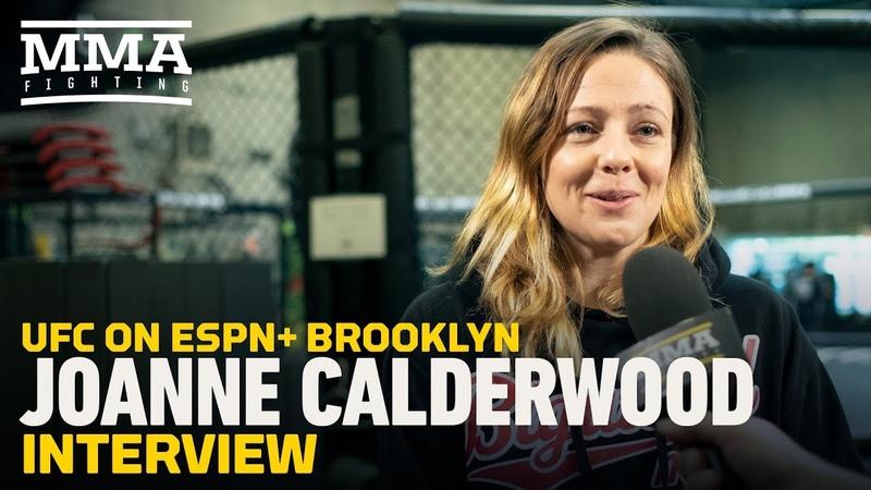 UFC on ESPN 1: Joanna Calderwood 'Looking To Jump The Line' at Flyweight - MMA Fighting