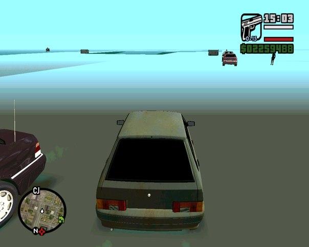 Новые текстуры теней для gta 4 - video game