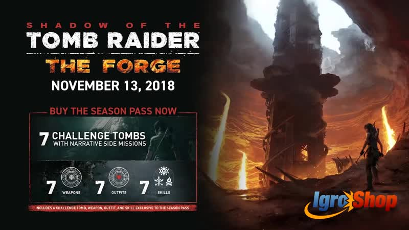SHADOW OF THE TOMB RAIDER The Forge Gameplay Trailer (2018)