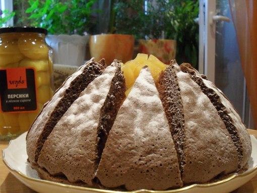 """Чудо-тортик  """"Килиманджаро """".  Для бисквита: - 5 яиц...  Ингредиенты.  На первый взгляд торт выглядит сложно..."""