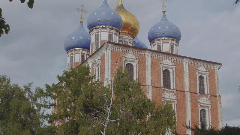 Пргулки по Рязани. Рязанский Кремль. Соборная колокольня