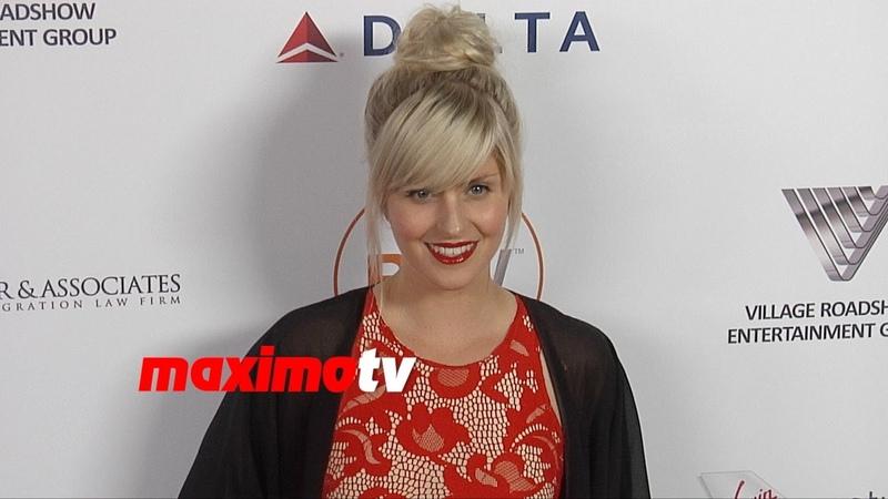 Amy Ruffle 2014 Australians in Film Awards Red Carpet