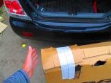 О том, как мы засовывали коробку с велосипедом в машину