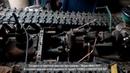Самодельный гусеничный трактор с двигателем урал ч.1