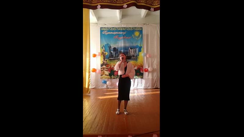Наша Варварушка поздравляет учителей в школе с 8 марта 2019 г шк №16