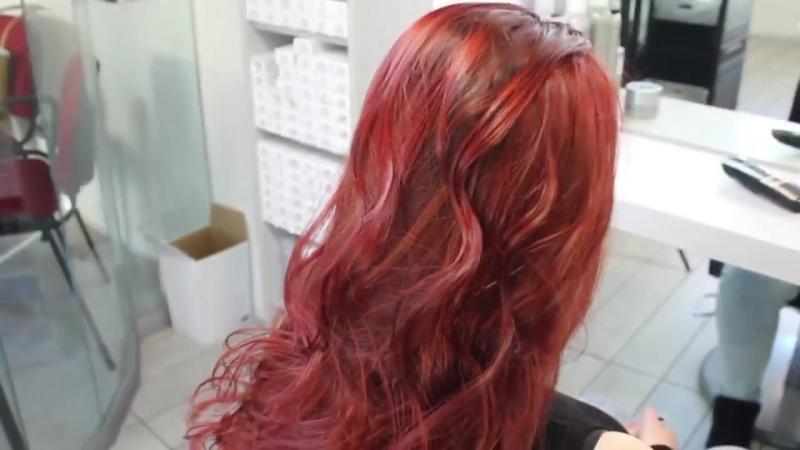 Nouvelle Тонирующая Маска для поддержания цвета волос ROSSO Красные Оттенки