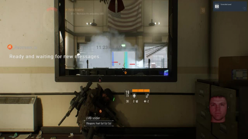 The Division with Jordan Saint and Tobii