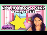 How to Draw for Kids How to Draw a Star ~ Tea Time with Tayla!